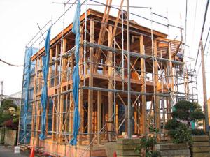 大工、職人が心をこめた施工をしています